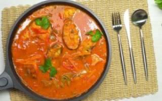 Рыба в томатном соусе рецепт приготовления