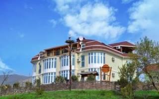Крым город судак отели