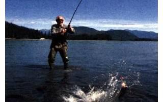 Как вытаскивать крупную рыбу