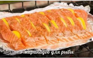 Как вкусно замариновать свежую рыбу