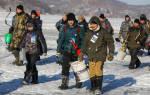 Зимняя рыбалка в приморском крае видео