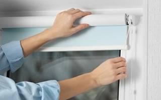 Эргономичные рулонные шторы: как крепить
