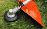 Заправка лески в триммер
