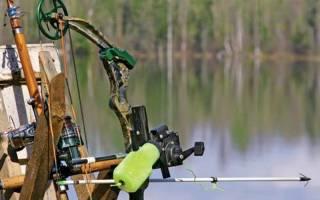 Рыбалка с луком и стрелами видео