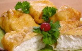 Как вкусно пожарить филе рыбы в кляре