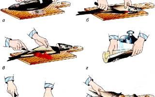 Механическая кулинарная обработка рыбы кроссворд