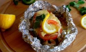 Как вкусно запечь рыбу кету