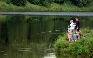 Места рыбалки на реке