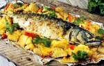 Как испечь рыбу с картошкой в духовке