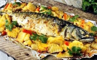 Какую рыбу запечь с картошкой