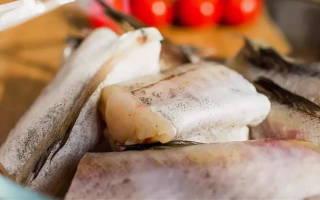 Содержание фосфора в морской рыбе