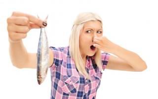как можно избавиться от запаха жареной рыбы в квартире