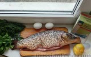 Приготовление рыбы в солевом панцире