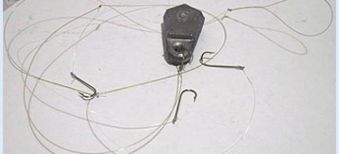 Закидушка с двумя крючками