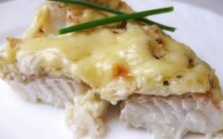 Рыба в духовке с молоком и яйцом
