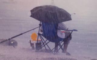 Рыбалка в пасмурную погоду