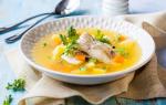 Суп с рыбой годовалому ребенку