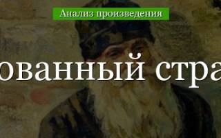 Лесков очарованный странник проблемы произведения