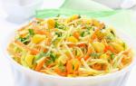 Салаты из свежей капусты — 17 очень вкусных рецептов