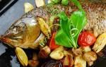 Как запечь рыбу сазан в духовке целиком