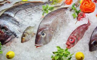 Сколько может лежать в холодильнике свежая рыба