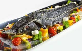 Приготовление осетра целиком в духовке: рецепты пикантной запеченной рыбки