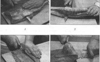Что значит пластовать рыбу