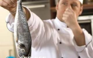 Чем убрать запах рыбы с сковороды