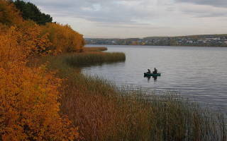Щука осенью на спиннинг осенью фото