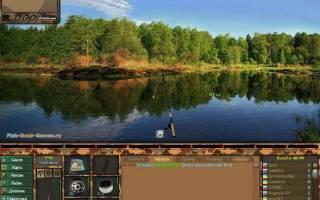 Красивый симулятор рыбалки