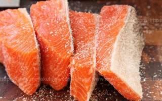 Как солить лосось для длительного хранения