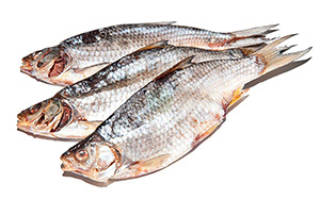 Рыба вобла сухая