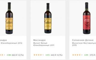 «Массандра — вина для ценителей прекрасного