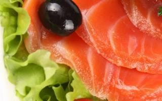 Форель запеченная калорийность бжу