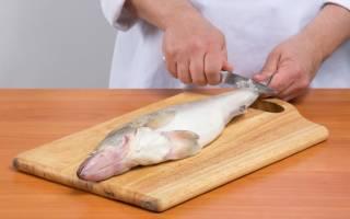 Как правильно почистить ерша рыбу