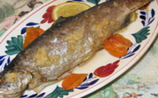 Время приготовления рыбы в духовке в рукаве