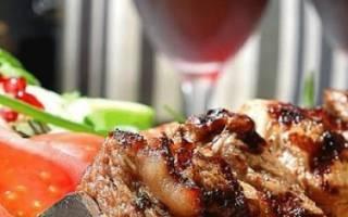 Технология замачивания шашлыков в белом и красном вине
