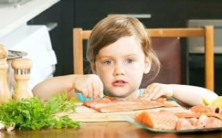 Какую рыбу можно ребенку в год