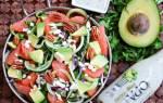 Салат из семги с огурцами и сыром