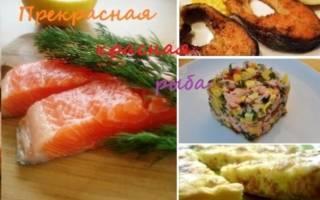 Как лучше приготовить красную рыбу