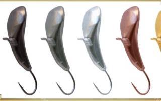 Безнасадочные мормышки для зимней рыбалки нимфа