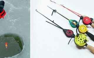 Зимняя рыбалка на поплавок снасти