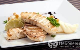 Масляная рыба на гриле калорийность