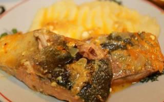 Рыба тушеная со сметаной калорийность