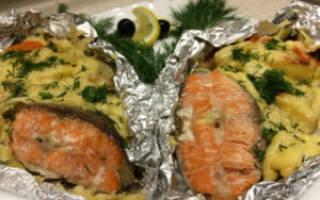 Как приготовить рыбу кижуч в духовке видео