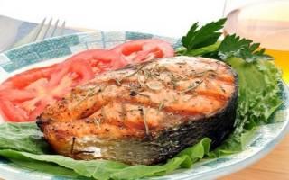 Рыба семга в фольге с картофелем