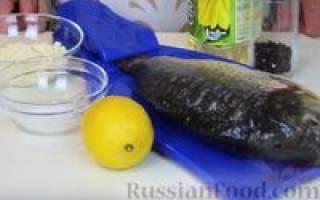 Приготовление карпа на сковороде видео